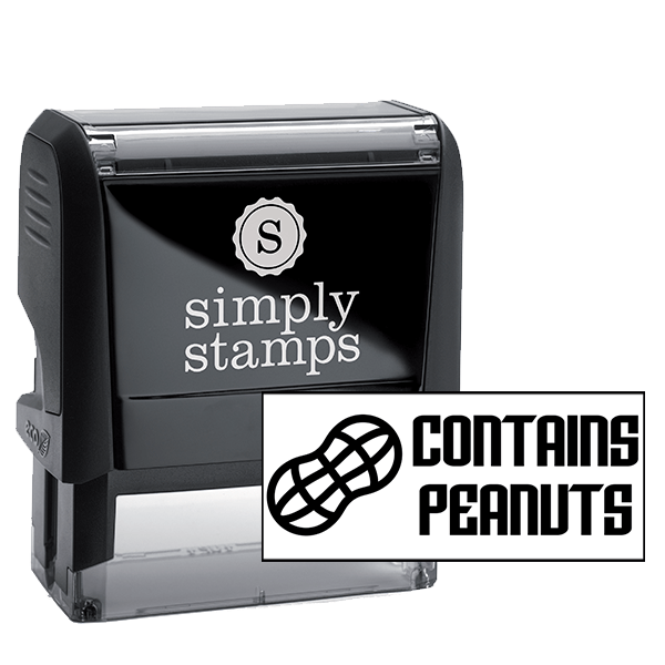Contains Peanuts Stamp