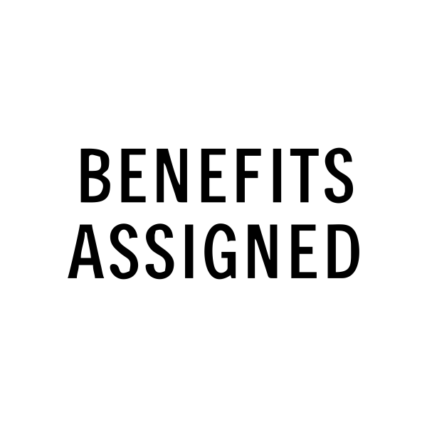 Benefits Assigned Stock Stamp