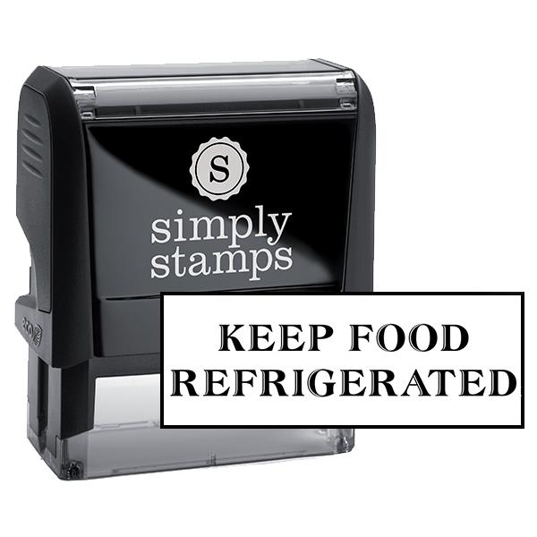 Keep Food Refrigerated Packaging Stamp