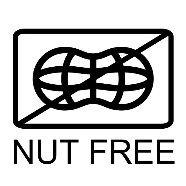 Nut Free Allergy Alert Stamp Imprint