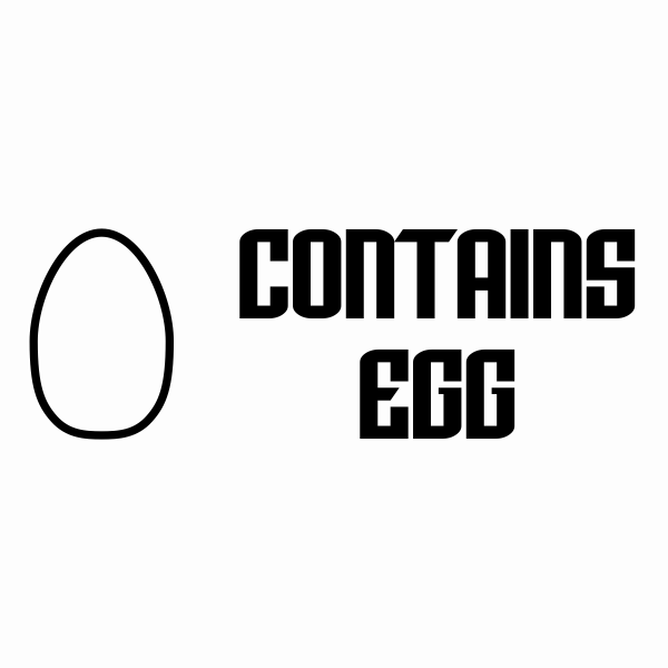 Contains Egg Stamp Imprint