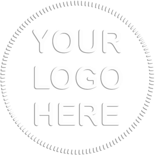 Logo Pink Embosser Seal Impression
