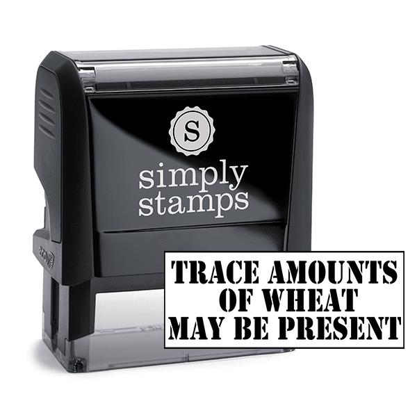 Trace Amounts Custom Stamp