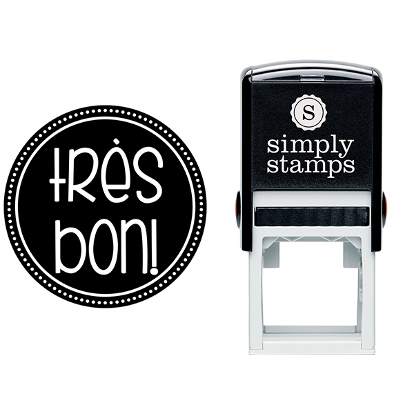 Very Good French Teacher Stamp Body and Design