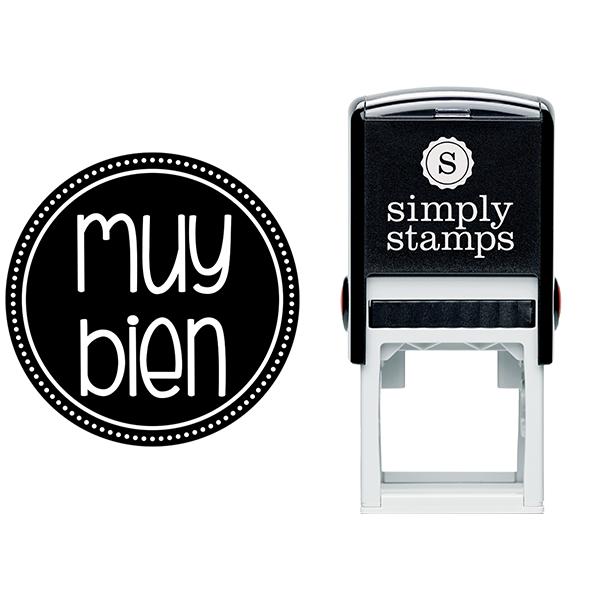 Very Good Spanish Teacher Stamp Body and Design