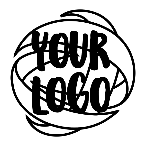 Round Logo Loyalty Stamp Imprint