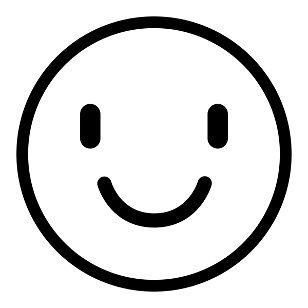 Smiley Face Loyalty Stamp Imprint