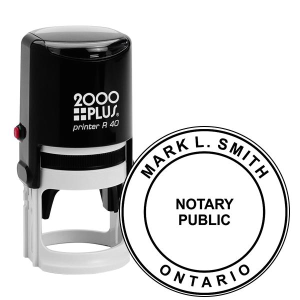 Ontario Notary Round
