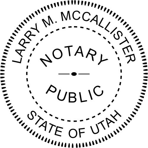 Utah Notary Seal Embosser