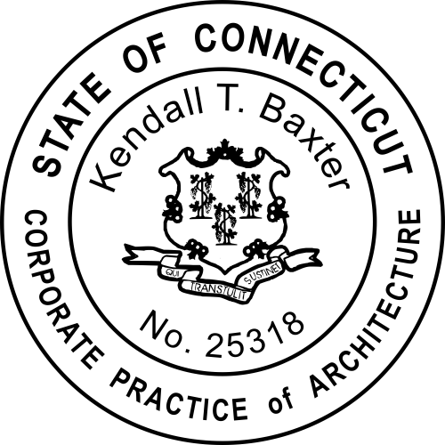 Connecticut Corporate Architect Stamp Seal