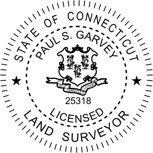 Connecticut Land Surveyor Stamp & Seal