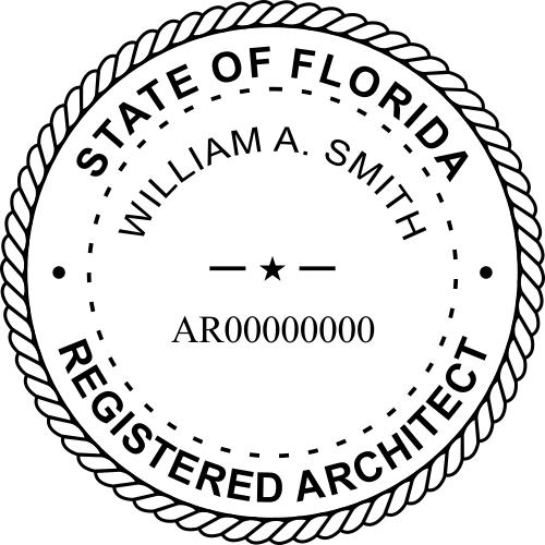 Florida Architect Seal