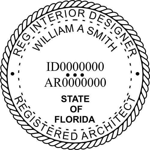 State of Florida Registered Interior Designer & Registered Architect