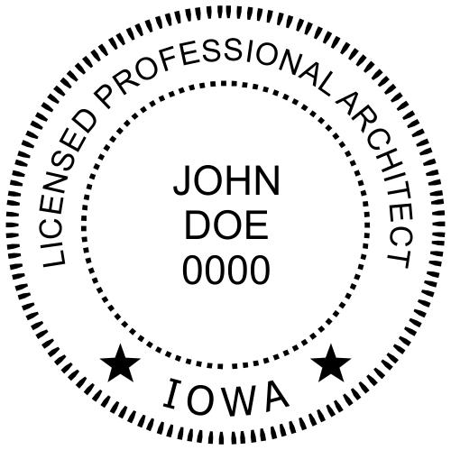 State of Iowa Architect