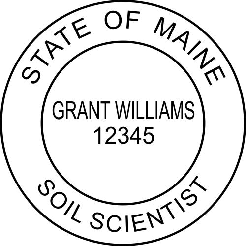 Maine Soil Scientist Stamp