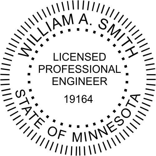 Minnesota Engineer Stamp