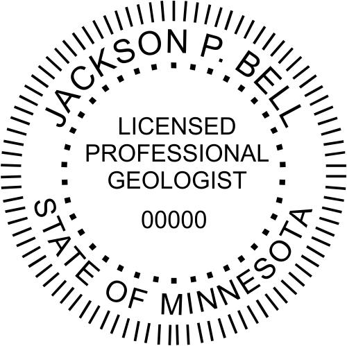 Minnesota Geologist Stamp