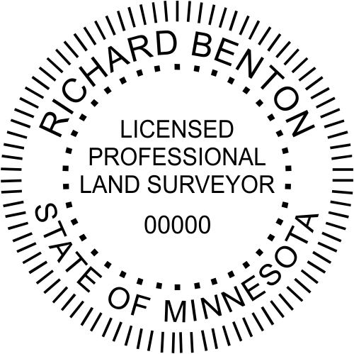 Minnesota Land Surveyor Stamp