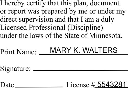 Minnesota Certified Professionals Stamp