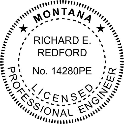Montana Engineer Stamp