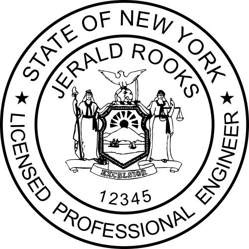 New York Engineer Stamp