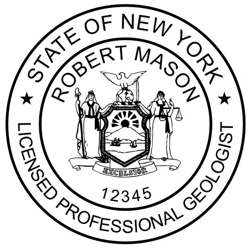 New York Geologist Stamp
