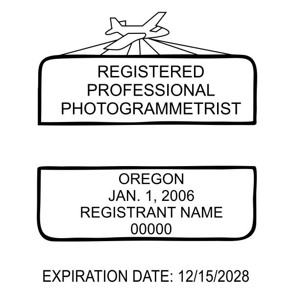 State of Oregon Registered Photogrammetrist