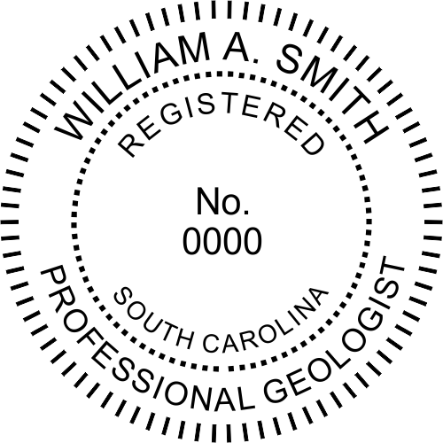 South Carolina Geologist Seal