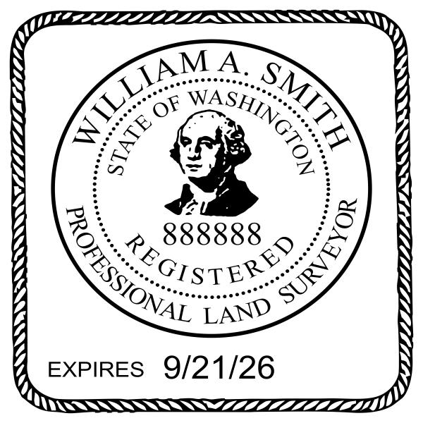 State of Washington Land Surveyor