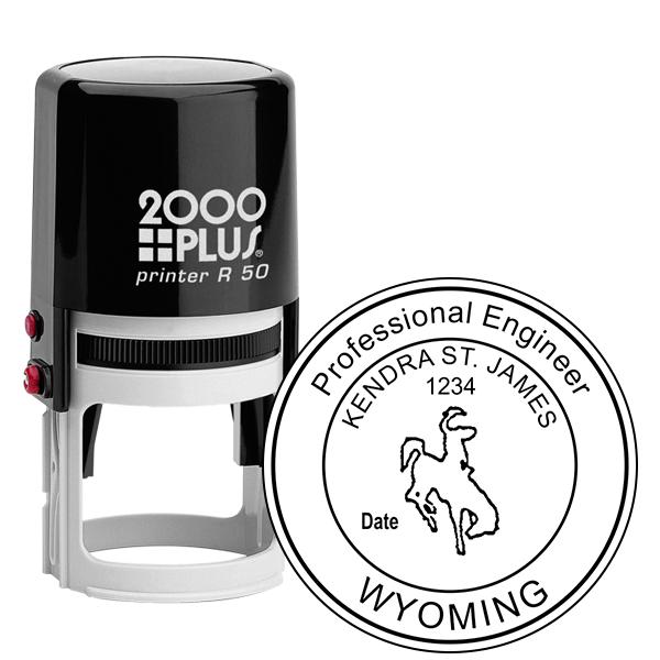 State of Wyoming Engineer Seal