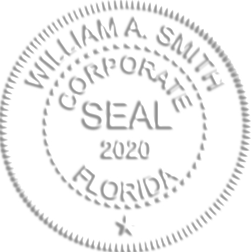 Corporate with Year Seal Embosser