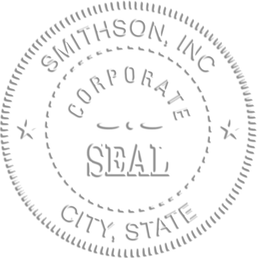 corporate embosser seal