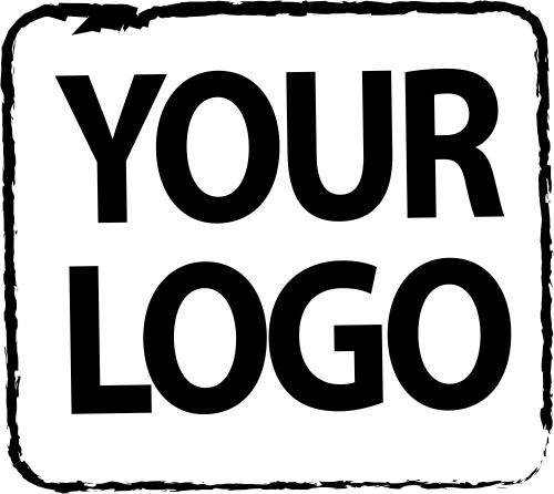 Custom Logo Rubber Stamp 4 Inch Design