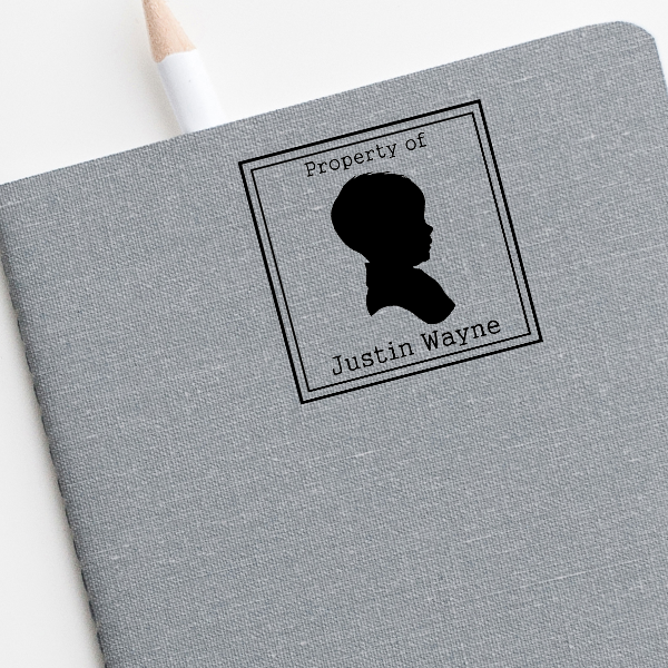 Lone Boy Shadow Stamp Imprint Examples on Envelopes