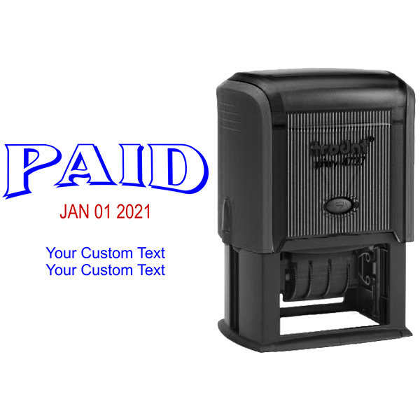 Paid Custom Date Stamp Body and Design