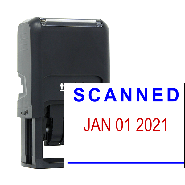 'Scanned' Office Date Stamp