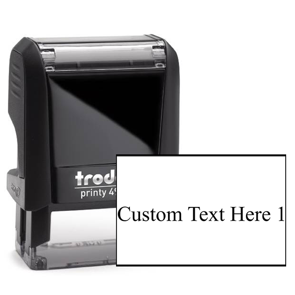 Trodat Self Inking 4910 Model 1 Line Stamp