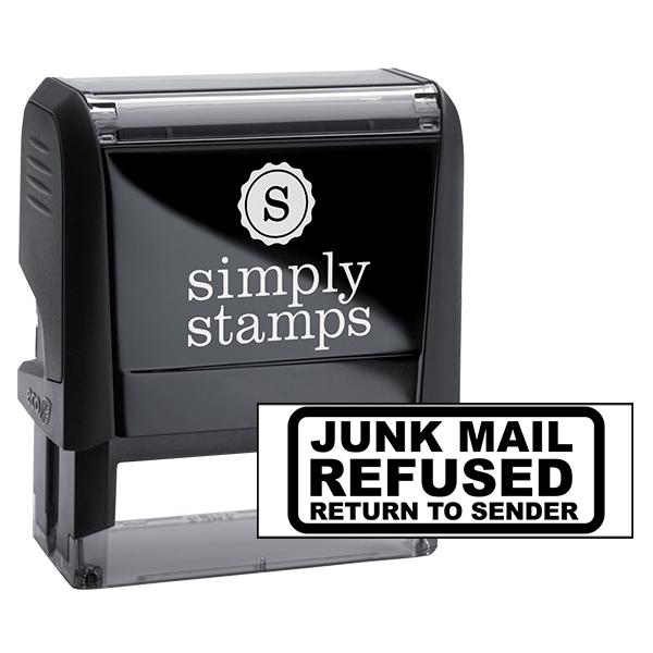 Junk Mail Refused Stamp