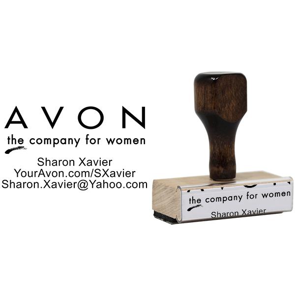 Avon Catalog Stamp Style 1 Body and Design