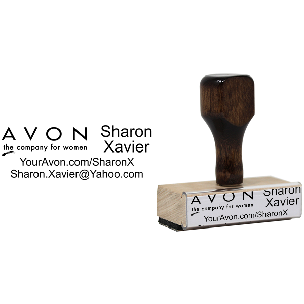 Avon Catalog Stamp Style 2 Body and Design