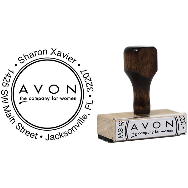 Avon Catalog Stamp Style 4 Body and Design