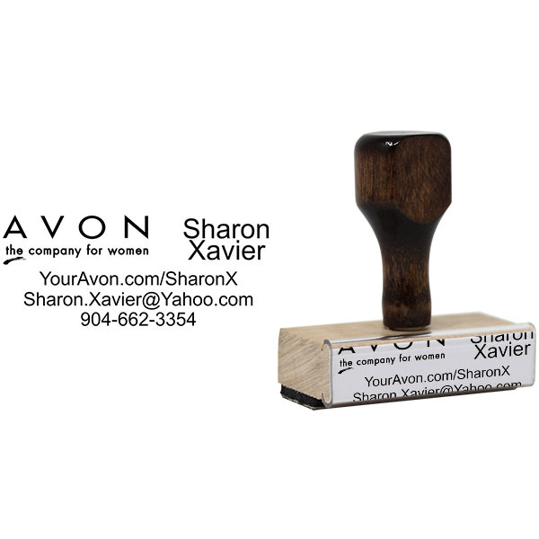 Avon Catalog Stamp Style 6 Body and Design