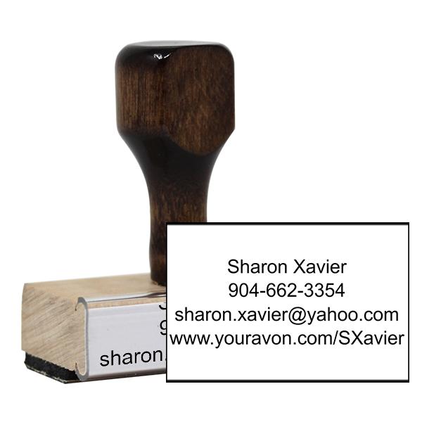 Avon Catalog Stamp Style 10