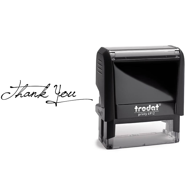 Elegant Thank You Stamp Body and Design