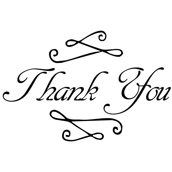 Fancy Thank You Stamp