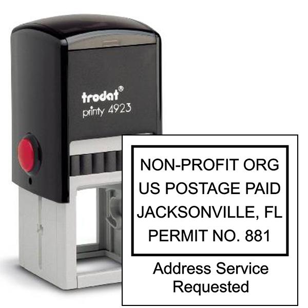 Non-Profit Postage Paid Stamp | Address Service Request