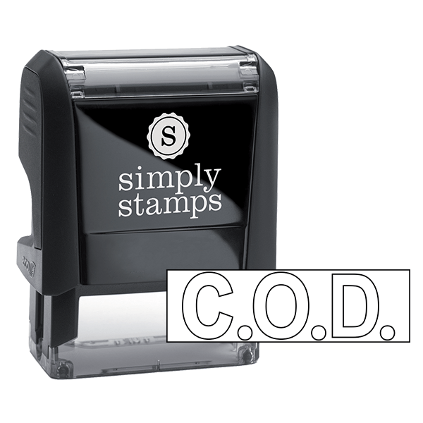 C.O.D. Stock Stamp