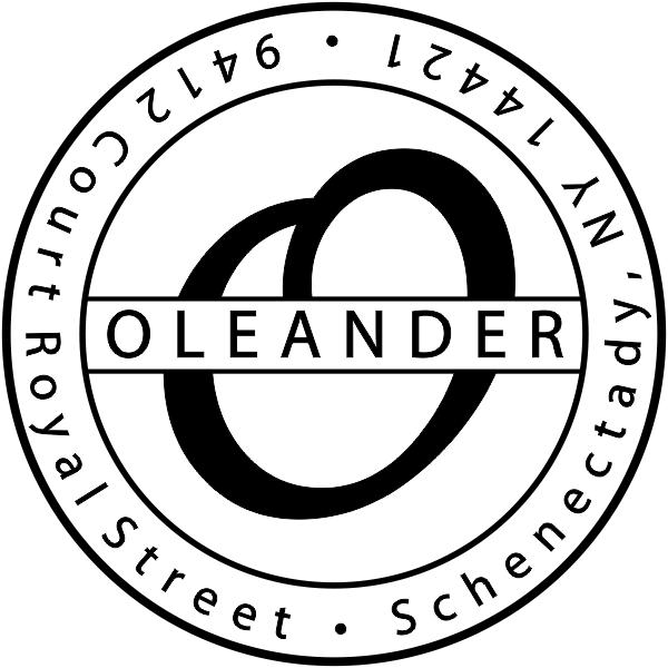 Round rubber address stamp