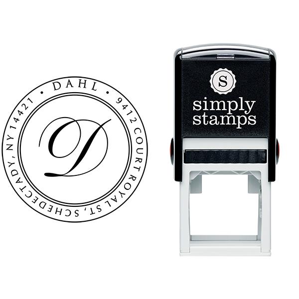 Dahl Round Stamp Body and Design
