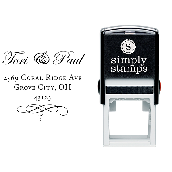 Grove Address Stamp Body and Design